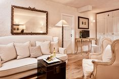 """This is what we call """"a stay in perfect style"""" Junior Suite Sea view Small Luxury Hotels, Luxury Travel, Re Room, Luxury Services, Shabby Chic Style, Sardinia, 5 Star Hotels, Wonderful Places, Villa"""