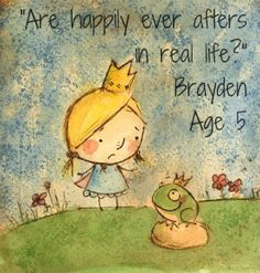 """Are """"happily ever afters"""" in real life?"""