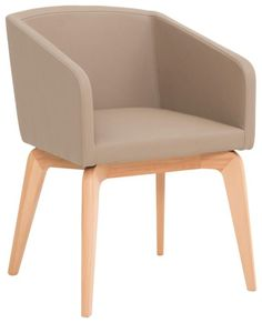 Dieser Stuhl begeistert! Mit seiner breiten Sitzfläche (B x T: ca. 48 x 47 cm) bietet das gepolsterte Möbel hervorragenden Komfort. Massives Buchenholz harmoniert perfekt mit dem Bezug im grauen Lederlook. Ihr neuer Stuhl passt dank des schlichten, zeitlosen Designs in Ihr Esszimmer oder ins Wohnzimmer. Auch im Schlafzimmer sieht dieser WÖSSNER Stuhl gut aus! Gegen Aufpreis erhalten Sie in unseren Filialen Farbalternativen und Beimöbel.
