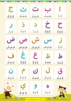 die 7 besten bilder von arabische buchstaben | arabische