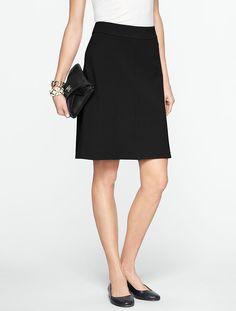 Talbots - Ponte A-Line Skirt | Skirts |