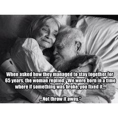 Beautiful! Grandma & Grandpa May they rest in peace