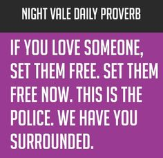 Night Vale Proverb