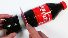 You may not have a mighty need for a giant gummy that looks exactly like a bottle of Coca-Cola, but you can't deny that it's a fun visual gag. It's also not that difficult to make. All you need is some gelatin products, a bottle of Coke, and some duct tape.