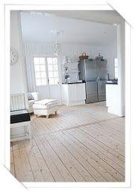 My Shabby chic house: Trägolven
