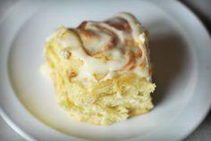 Sticky lemon rolls with lemon cream cheese glaze. Yummy!