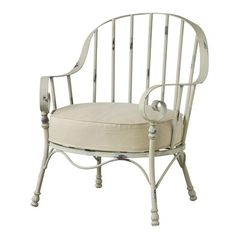 I pinned this Burlington Iron Arm Chair from the Rustic & Romantic event at Joss and Main!  Offer guests a comfortable seat with this gorgeous piece, offering romantic appeal for your home décor.