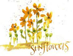 TᎧųཞŋɛᎦᎧℓᎦ (Art du Jour by Martha Lever, Sunday Sunflower Ditty)