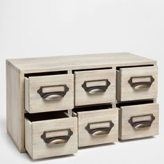 BOX WITH DRAWERS - Boxes - Decoration | Zara Home Poland