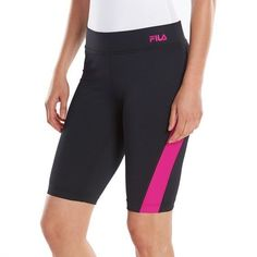 2a9032440d1 NWT Women s FILA SPORT Strength Bermuda Workout Cropped Legging Running Size  XS  FilaSport  PantsTightsLeggings