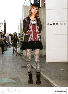 FuckYeahFRUiTS Harajuku Fashion, Japan Fashion, Alternative Outfits, Alternative Fashion, Aesthetic Fashion, Aesthetic Clothes, Hot Outfits, Fashion Outfits, Outfit Goals