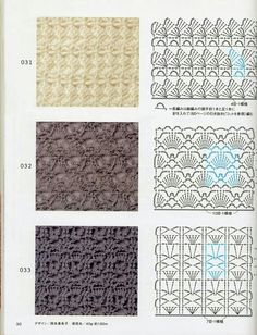 Knitting and Crochet Patterns for your designs. They will help you with crochet scheme. Crochet Stitches Chart, Crochet Motifs, Crochet Diagram, Knitting Stitches, Crochet Doilies, Crochet Lace, Knitting Patterns, Hand Crochet, Shawl Patterns