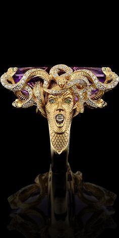 Master Exclusive Jewellery - Коллекция - Mysticism - Medusa Ring