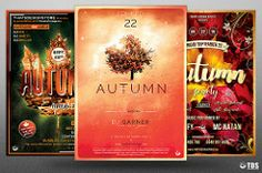 Autumn Equinox Flyer Bundle (ThatsDesignStore) Tags: lou606 thatsdesign flyer poster leaflet template psd photoshop autumn fall thanksgiving party night day typographic season seasonal dj nature earth forest wood leaves leaf golden gold equinox magic magical enchanted woods abstract elegant beautiful minimal simple watercolor tree solstice club nightclub concert symphonic tribute orange green indie electro electronic music festival bundle sale deal