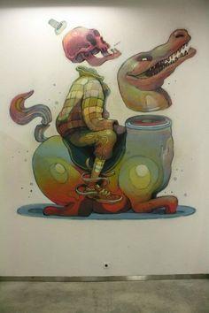 Aryz - street artist
