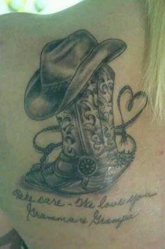 Cowboy Tattoo Designs Cowboy Hat Tattoos Cowboy Skull