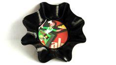 Vide-poches design et rétro, objet décoratif, cuisine, disque vinyl , série For me K : Accessoires de maison par vnealstory