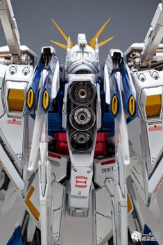 "Painted Build: G-System 1/72 RX-105 Xi Gundam ""Metallic Finish"" - Gundam Kits Collection News and Reviews"