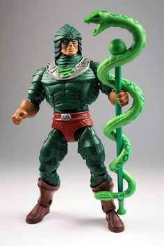 My King Hiss figure from the Masters of the Universe Classics toyline.