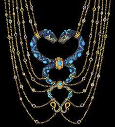 Boucheron Snake Necklace by Harumi Klossowska