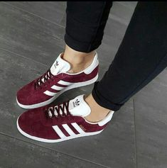 new product 49e1b 73649 Cute Addidas Shoes, Maroon Adidas Shoes, Womens Addidas Shoes, Gold Adidas,  Adidas