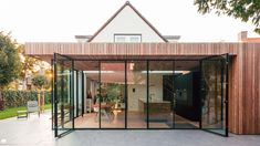 Patio Doors, House Goals, Beautiful Bedrooms, Traditional House, Home Living Room, Future House, Interior Architecture, Bungalow, Gazebo
