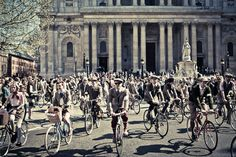"""""""If this sort of scene piques your fancy— tweed, cycling and/or tea—then you're in for a world of Newsies-style fun and exercise at Rugby Ralph Lauren's Tweed Run, taking place in lower Manhattan on Saturday, October 15. The massive bike ride, which will include an afternoon tea break and a post-ride gin-swilling party in Brooklyn"""" via Refinery29"""