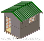 How to build a Storage Shed This free plan-set contains seven pages of detailed plans, drawings and step-by-step instructions for a 2400 x 3...