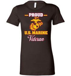 Proud U.S. Marine Veteran Women's T-Shirt