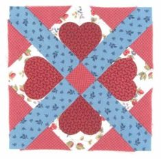 Make Cupid's Own quilt block your own by incorporating it in your latestQuilting project. You'll find everything you need to get started on this page, including a free quilt block download.