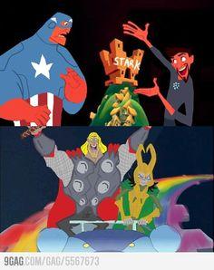 The Avenger's New Groove