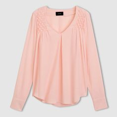 Image Long-Sleeved Blouse with Smock Details R studio