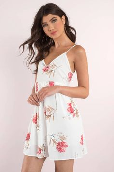 7a82bc1e266 Start your spring with the Got It Growing On Skater Dress. Featuring a  floral print