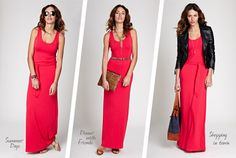 How to wear a maxi dress from Isabella Oliver