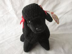 Vintage Beanie Baby 1997 Gigi the Poodle by jclairep on Etsy
