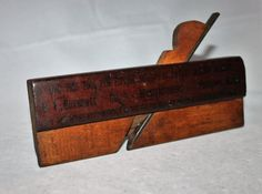 Antique Specialty Wood Plan 1890s E T Burrows Company Sliding Screen Fitting Tool