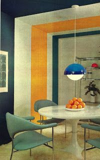 Better Home and Garden 1975 - Mies Van Der Rohe Chairs