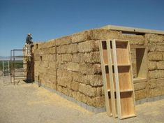 Placing Bond Beams Day Four - Straw Bale House: A Four-Person Barn Raising