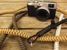 Camera strap byTim Irving. Handmade.  http://t-h-i-n-g-s.blogspot.com