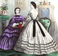 Ladies Of The 1860s: March 2012