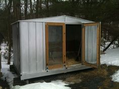 Toy Shed Conversion - BackYard Chickens Community