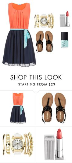 """""""We are going to DM yaaay!!!"""" by farahossama ❤ liked on Polyvore featuring maurices, Aéropostale, Charlotte Russe, Lipstick Queen and NARS Cosmetics"""
