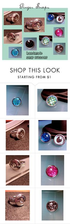 """""""Ginger Snap Jewelry-by Charmed Heartz"""" by bamasbabes on Polyvore"""