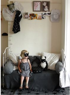 eclectic kids' room