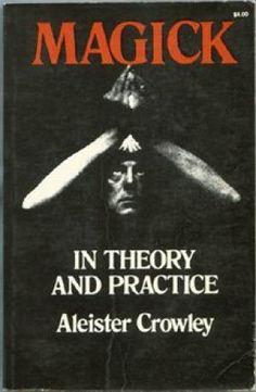 Aliester Crowley signature vinyl decal Occult Magick conspiracy black magic