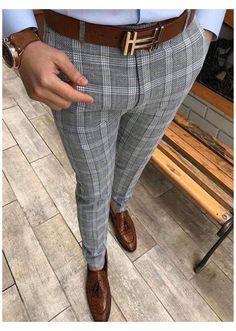 Mens Plaid Dress Pants, Blazer Outfits Men, Dress Pants For Men, Jeans Pants, Mens Fashion Suits, Fashion Pants, Cool Outfits For Men, Formal Men Outfit, Mens Clothing Styles