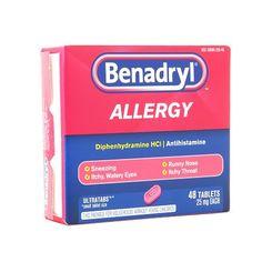 Benadryl Allergy Ultratab Tablets, 48.0ea $ 6.92