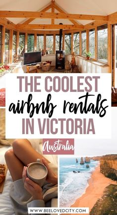 Coolest airbnbs in Victoria Airbnb Australia, Australia Honeymoon, Australia Travel Guide, Family Getaways, Weekend Getaways, Wilsons Promontory, Space City, Airbnb Rentals, Garden On A Hill