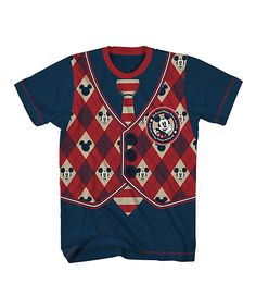 Love this Navy Mickey Mouse School Time Tee - Boys by Mickey Mouse on #zulily! #zulilyfinds