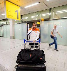 Rafaël van der Vaart gaat niet naar de WK.